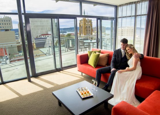 For their upcoming print campaign, RACV asked Daniel to photograph a bridal shoot at the Hobart Apartment Hotel. Daniel collaborated with stylists Ally Nichler and Alexandra Edwards, wardrobe stylist Maggie Manrique, and models Rosie and Julian.
